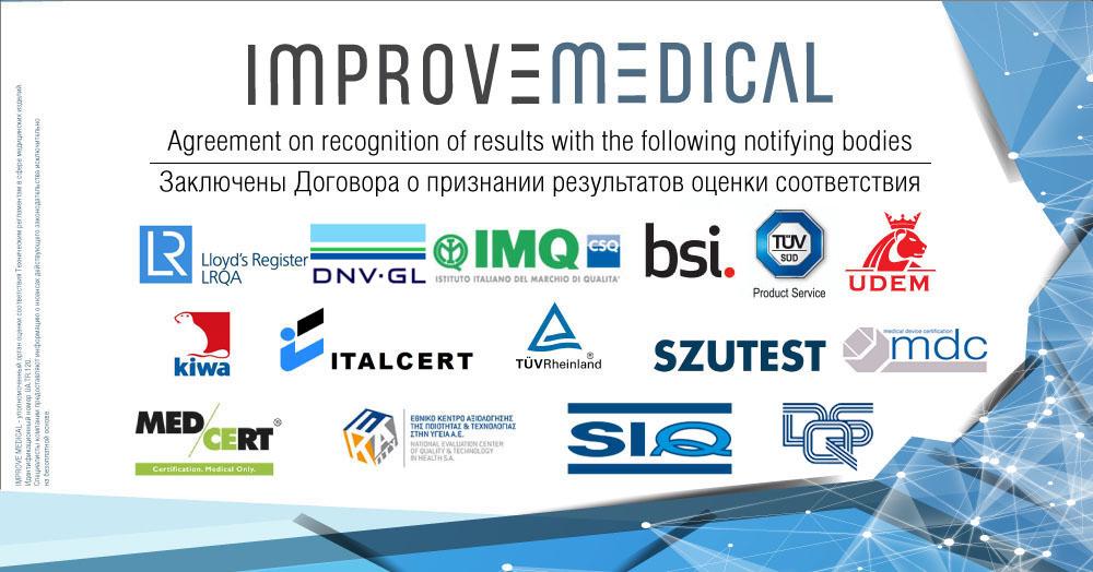 IMPROVE MEDICAL UA.TR.120 - орган оценки соответствия, назначенный по новым стандартам, гармонизированным с ЕС